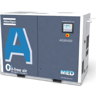 Water-injected screw compressors