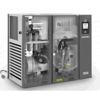 Oil-lubricated compressors